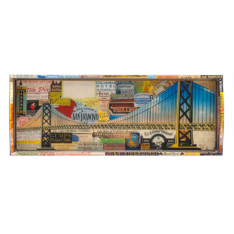 Annie Modica San Francisco Bar Tray
