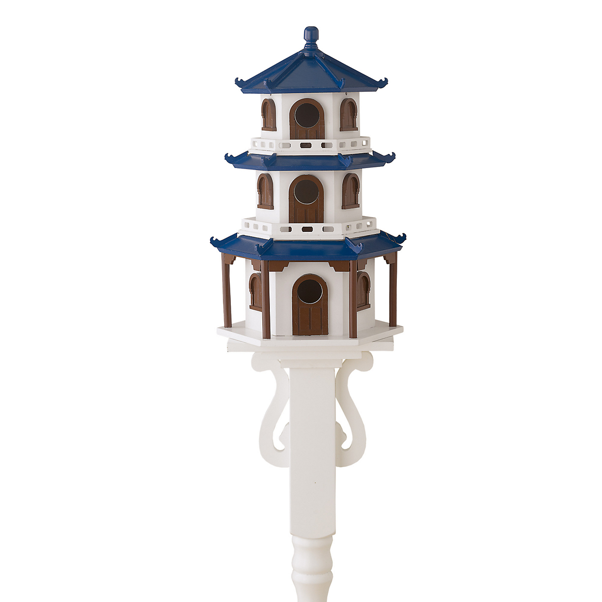 Pagoda Birdhouse & Post