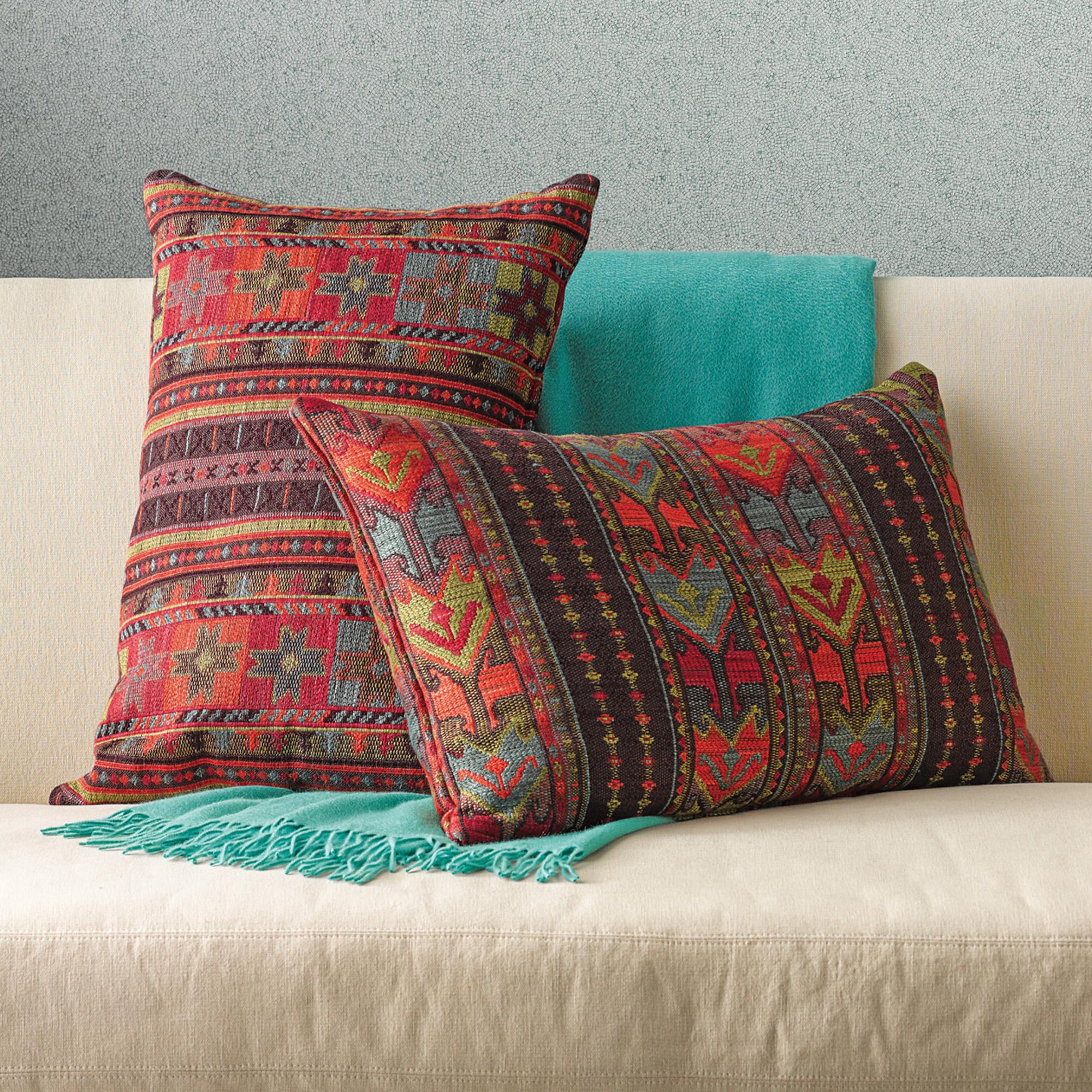 Throw Pillows Home : Tribal Pillows Gump s