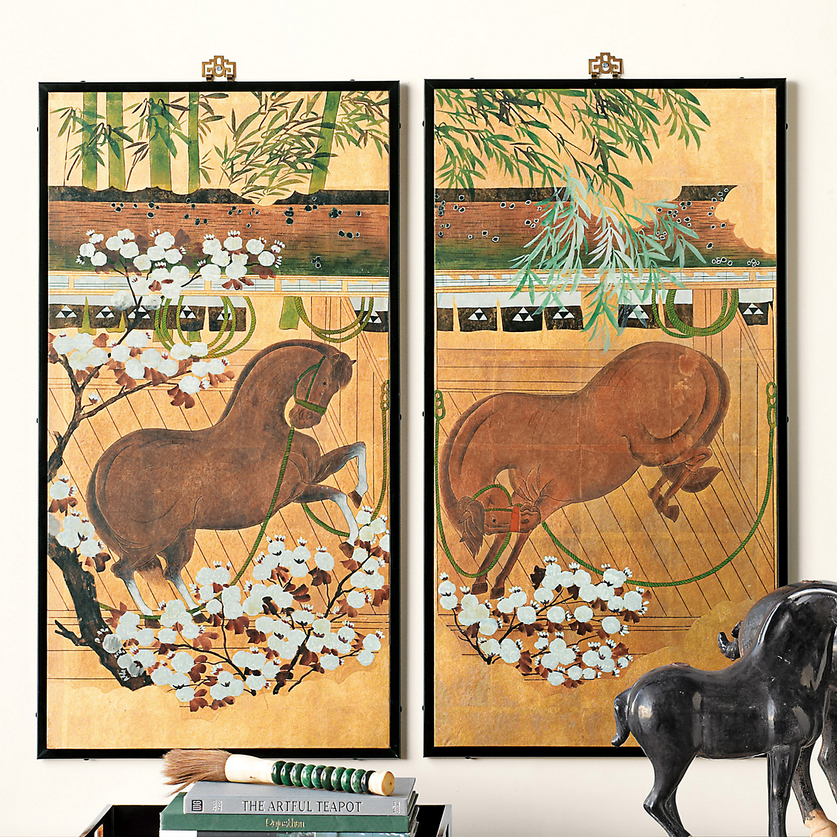 Frolicking Horse Screens