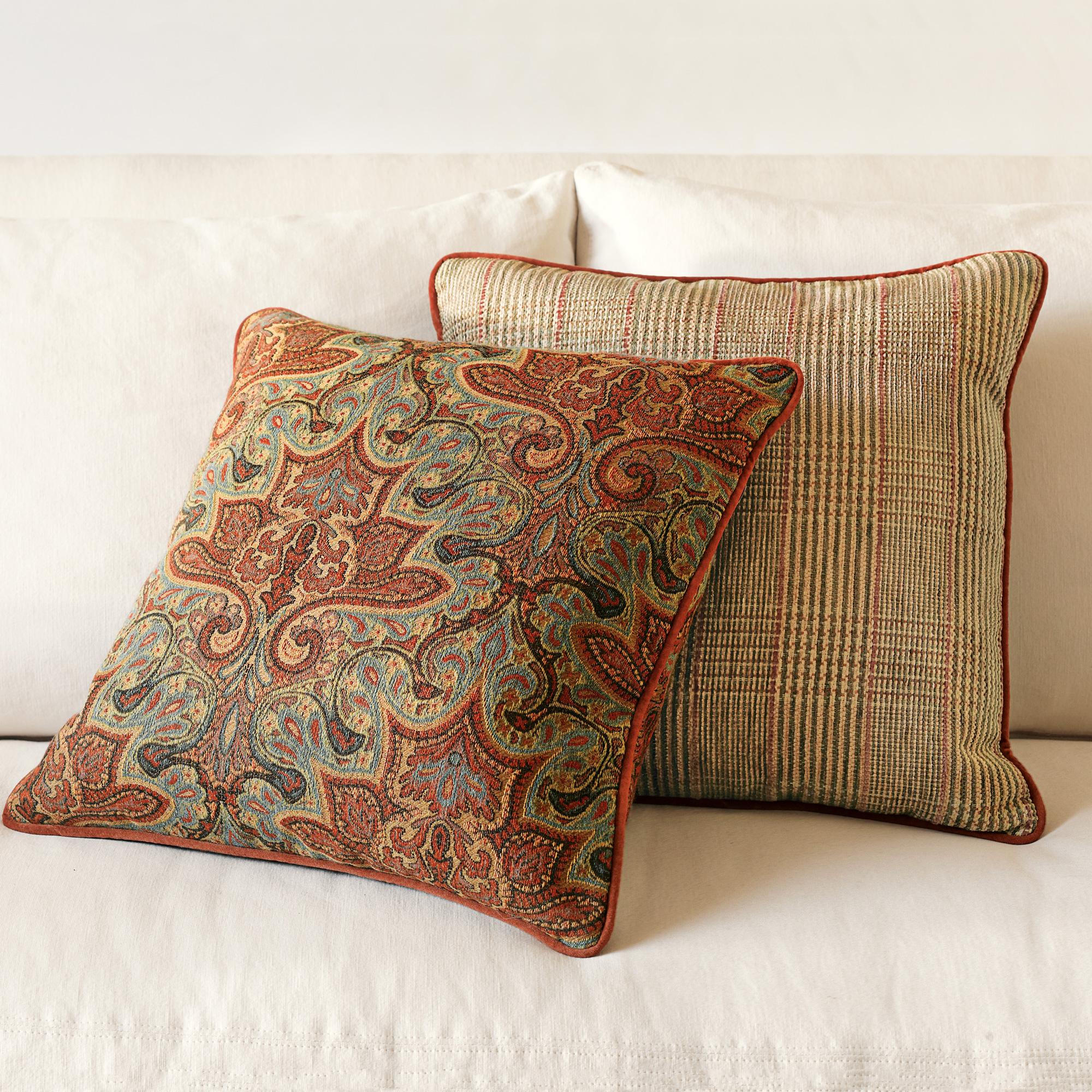 Throw Pillows Home : Greenwich Pillows Gump s