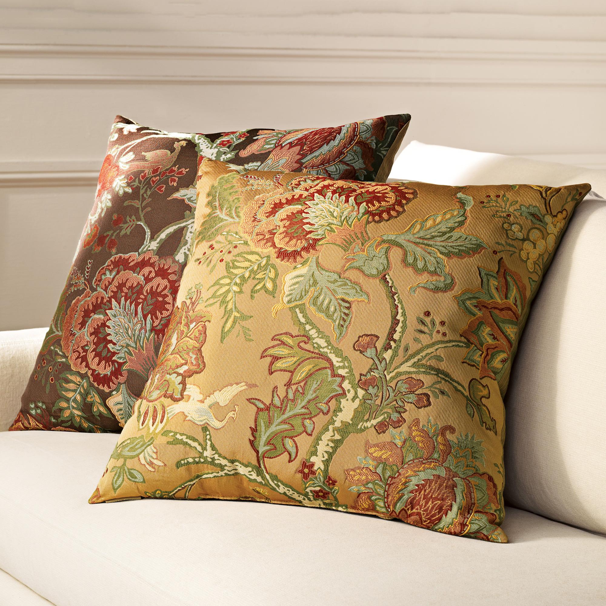 Throw Pillows Home : Canterbury Pillows Gump s