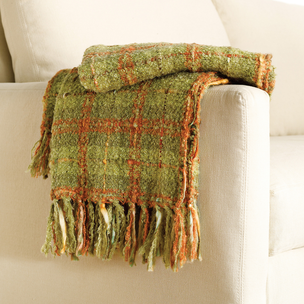 Autumn Mohair Throw