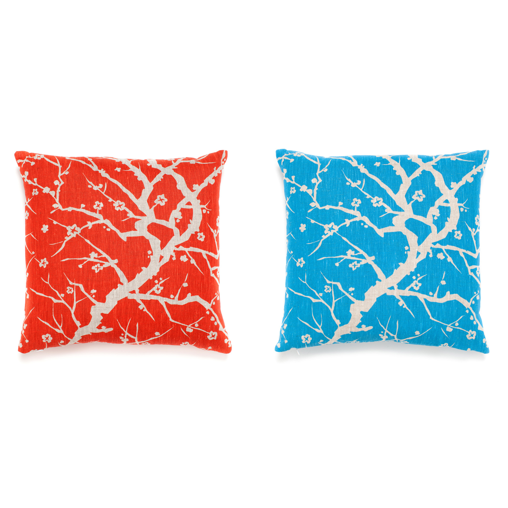 Throw Pillows Home : Cherry Blossom Branch Pillows Gump s