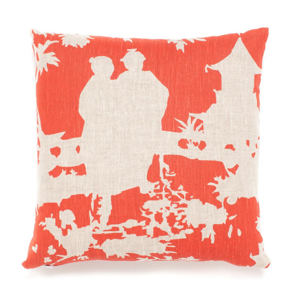 Throw Pillows Home : Chinoiserie Pillow Gump s