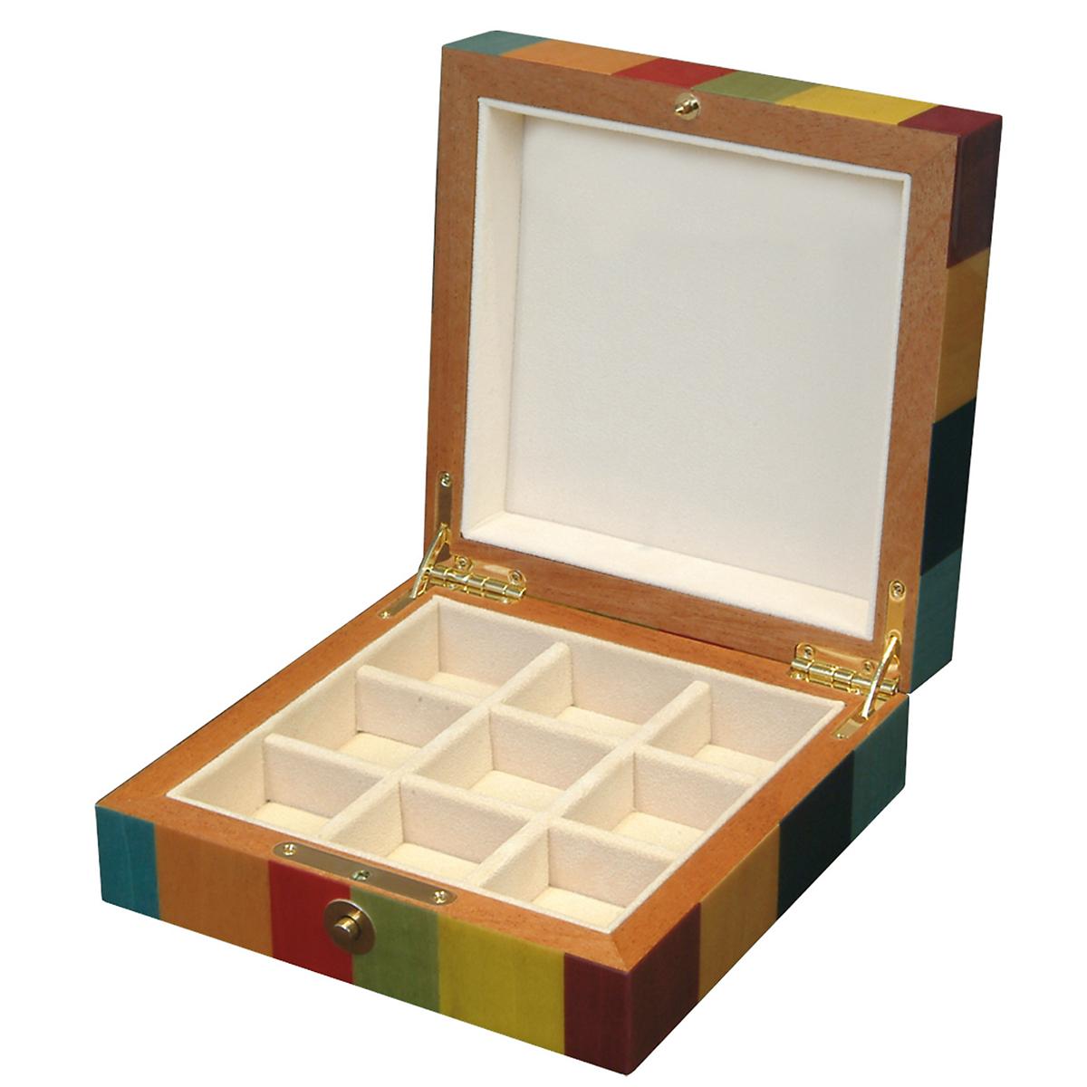 ercolano square jewelry box gump s