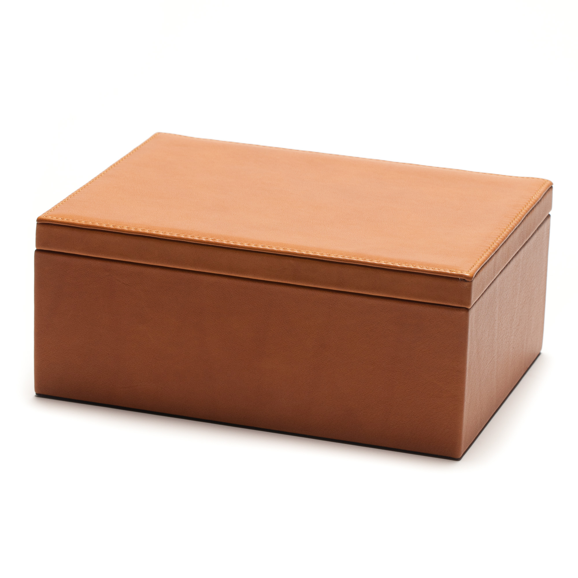 Graphic Image Leather Desk Box, Large
