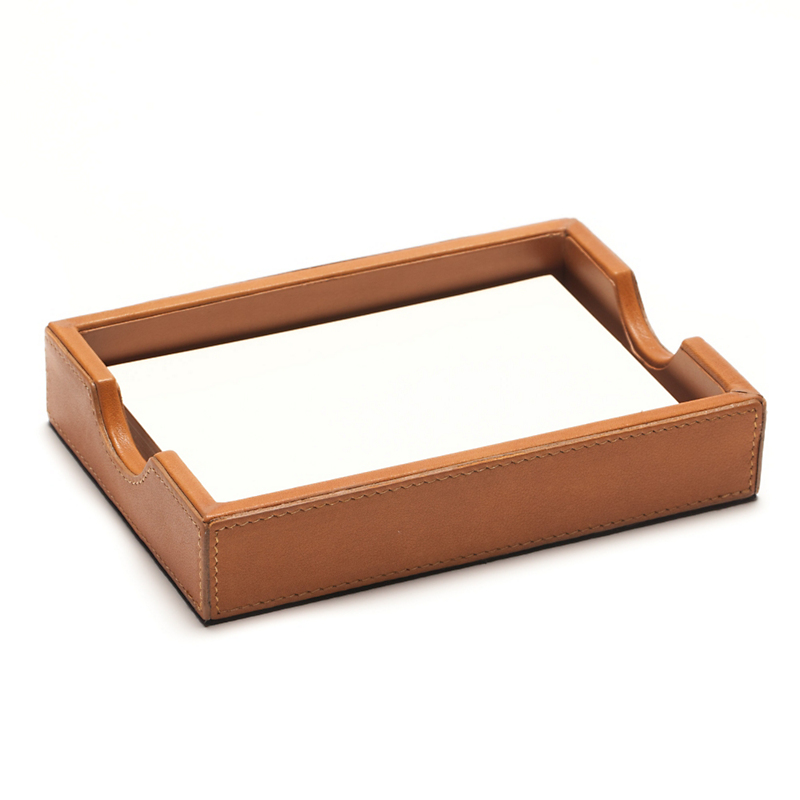 Graphic Image Leather Paper Tray