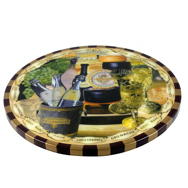 Annie Modica Wine & Cheese Lazy Susan