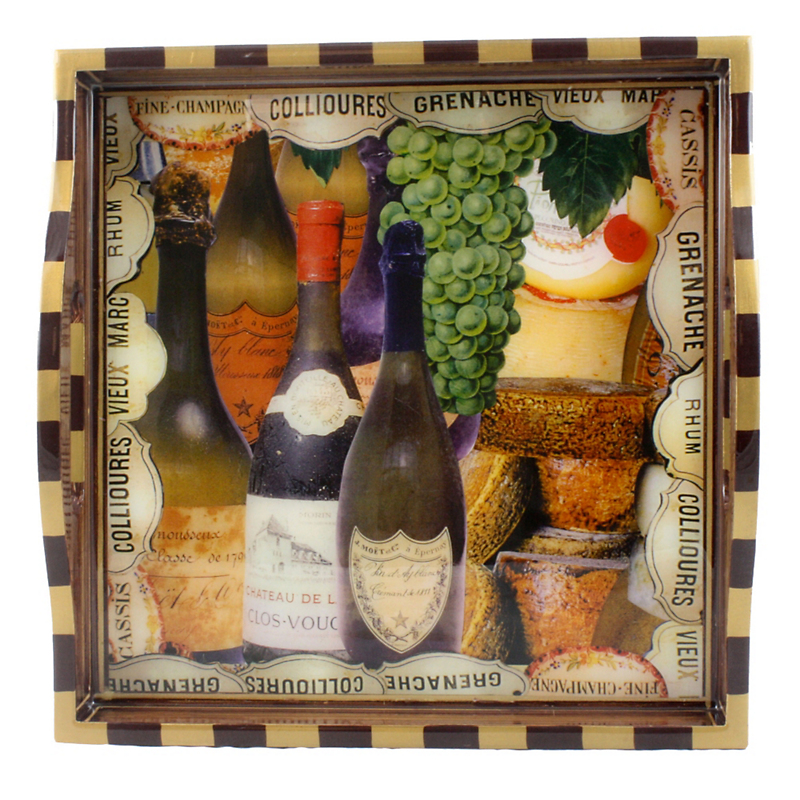 Annie Modica Wine & Cheese Small Tray