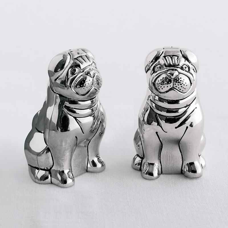 Pug Salt & Pepper Shakers