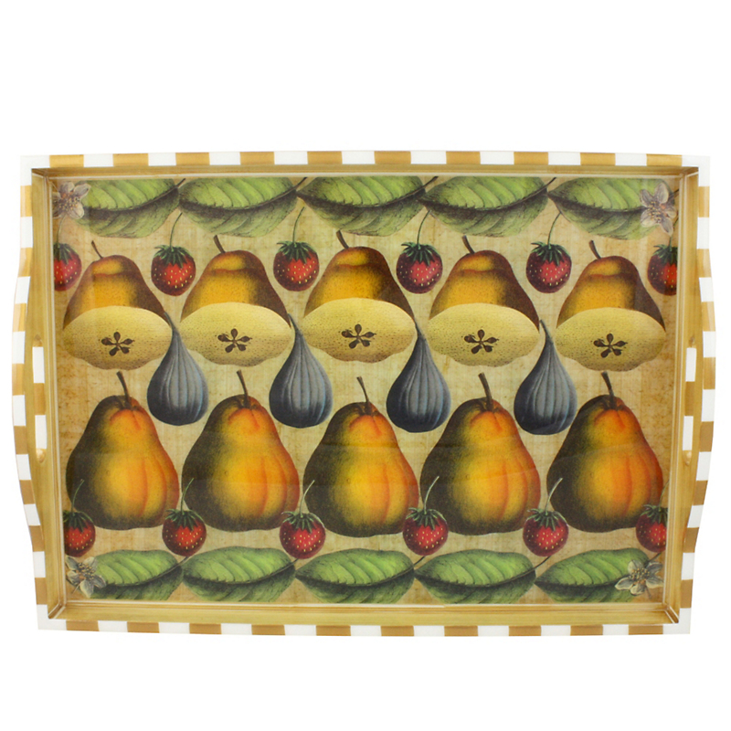 Annie Modica Pear & Fig Large Tray