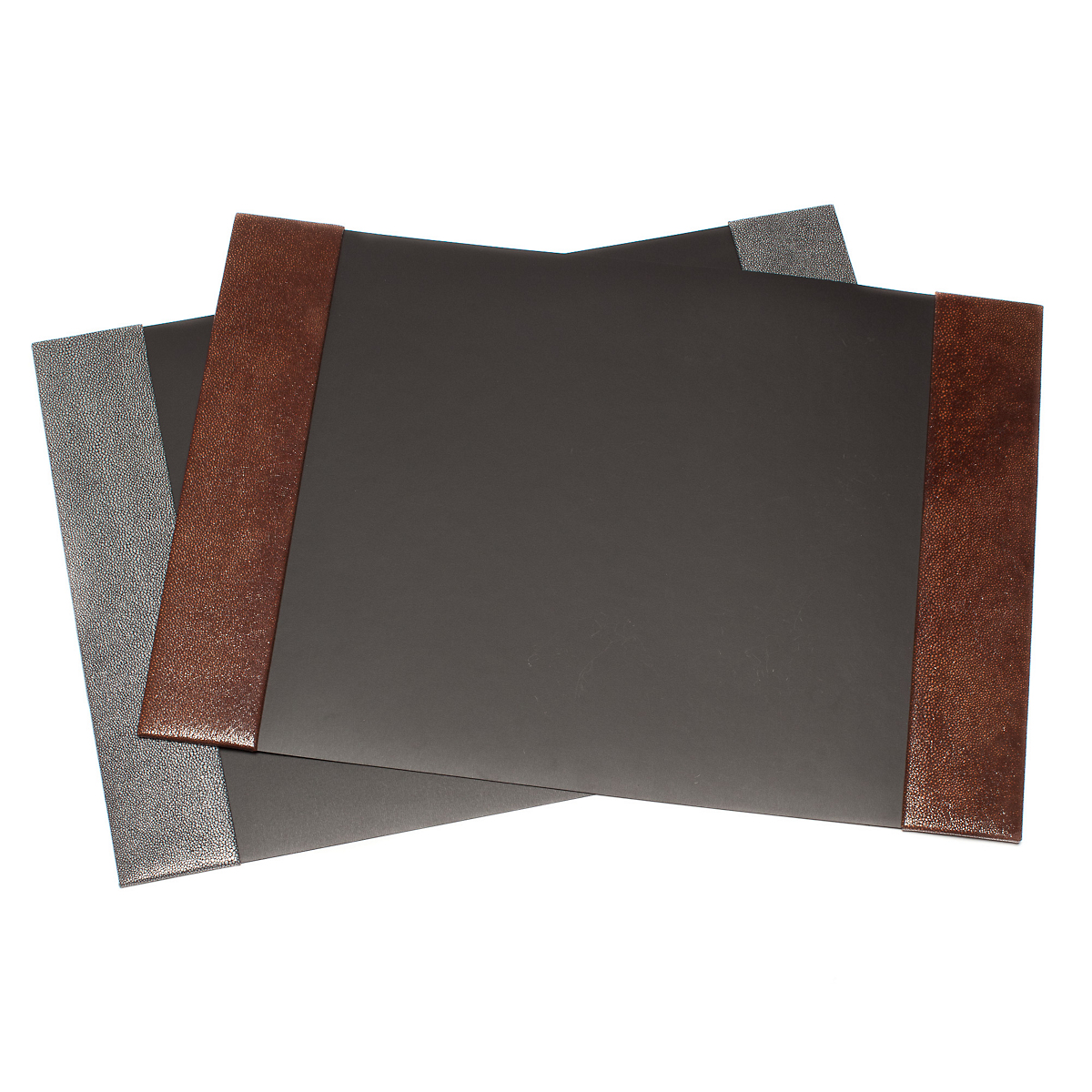graphic image shagreen desk blotter large - Desk Blotter