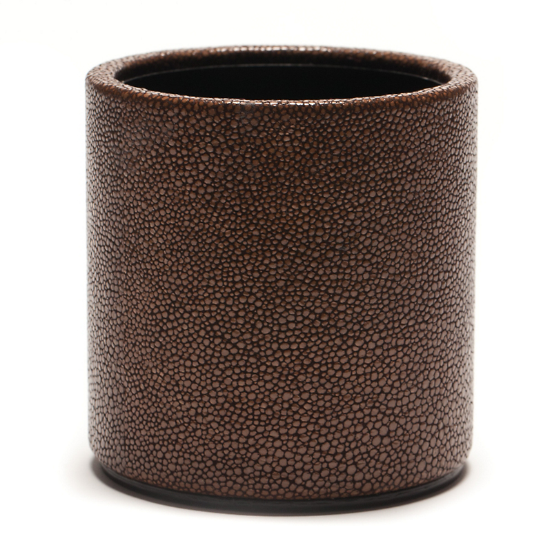 Graphic Image Shagreen Pencil Cup