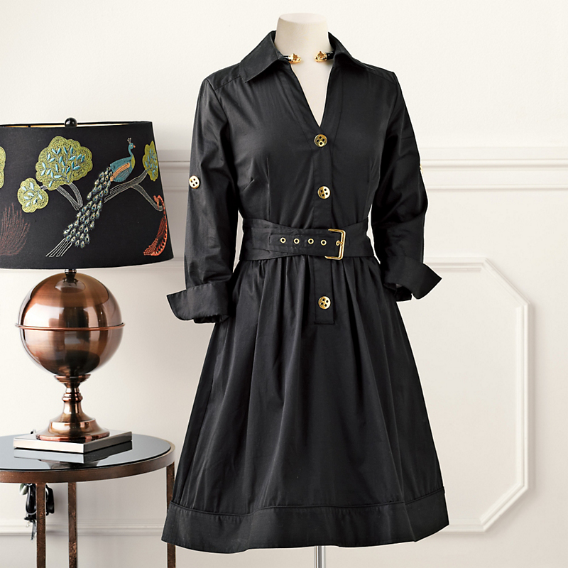 Belted Shirtdress