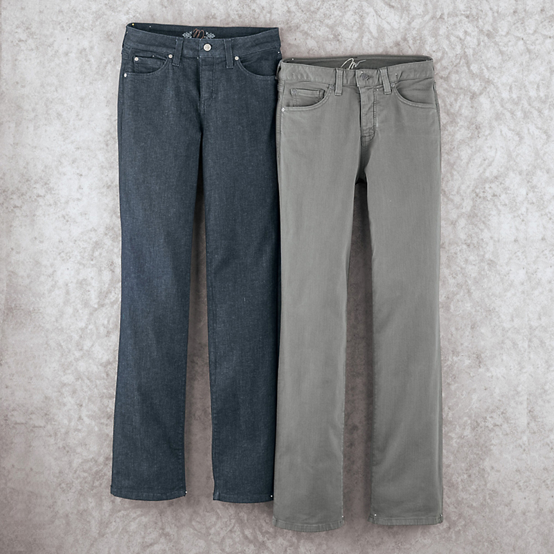 Miracle Stretch Denim, Straight Leg