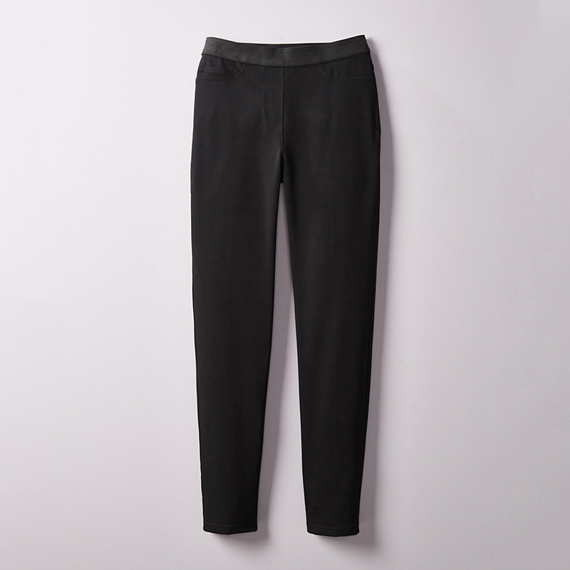 Peace of Cloth Luxury Slim Leg Pant, Solid