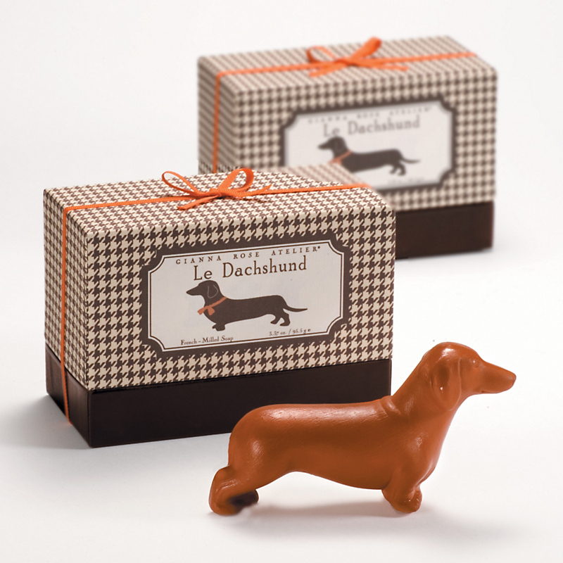 Gianna Rose Dachshund Soap