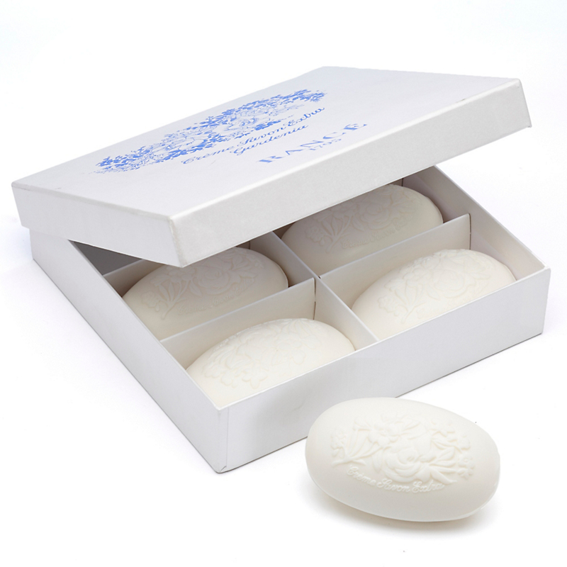 Rancé Luxury Gardenia Soaps, Set of 6