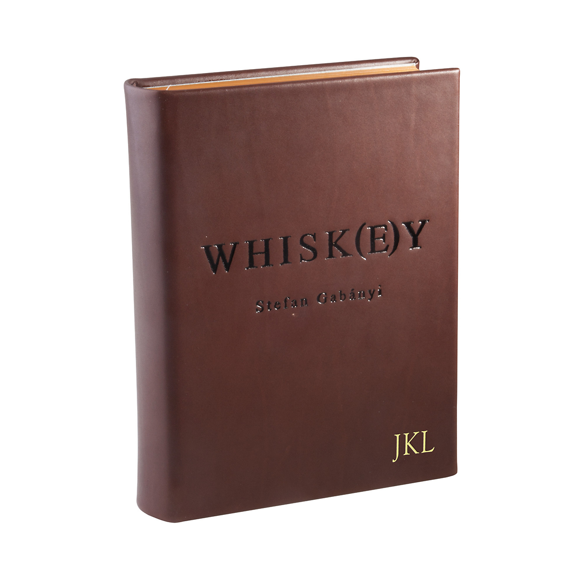Graphic Image Personalized Whiskey Book