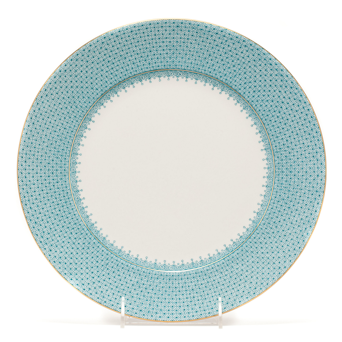 Mottahedeh Turquoise Lace Charger