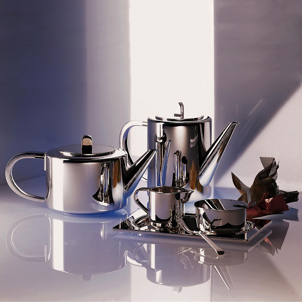 robbe berking alta silverplate coffee tea service gump 39 s. Black Bedroom Furniture Sets. Home Design Ideas