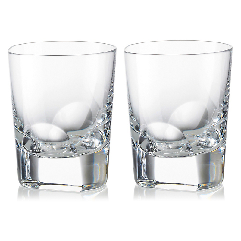 Rogaska Manhattan Double Old Fashioned Glasses
