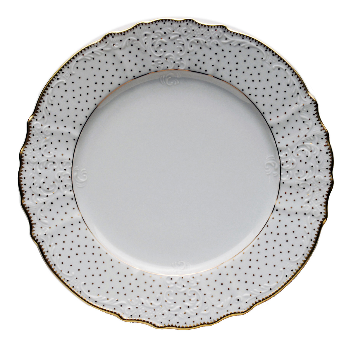 Anna Weatherley Simply Anna Polka Dot Dinner Plate