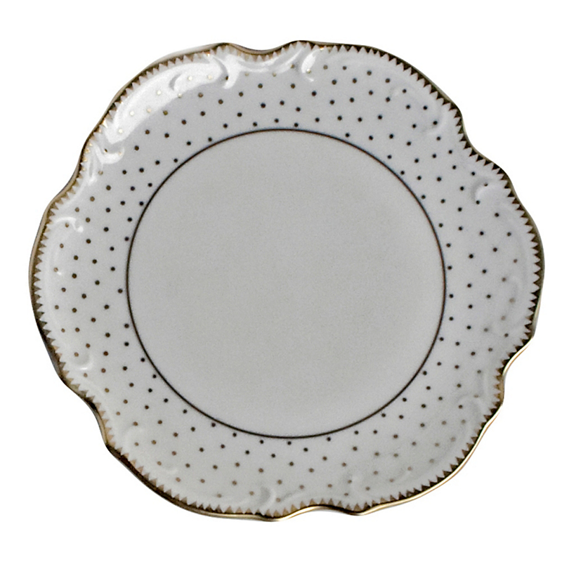 Anna Weatherley Simply Anna Polka Dot Bread & Butter Plate