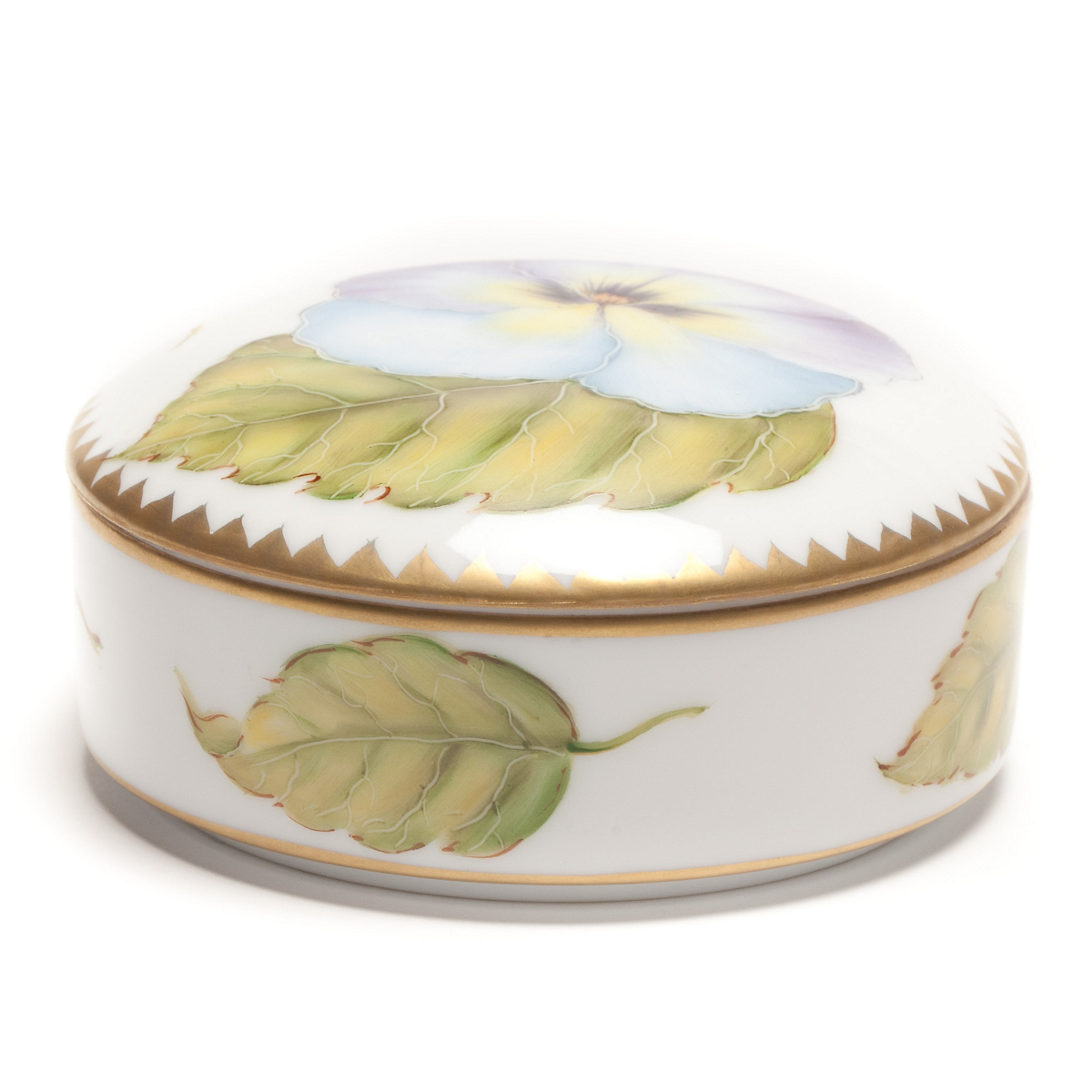 Anna Weatherley Round Covered Box