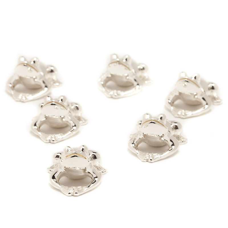 Ercuis Frog Placecard Set