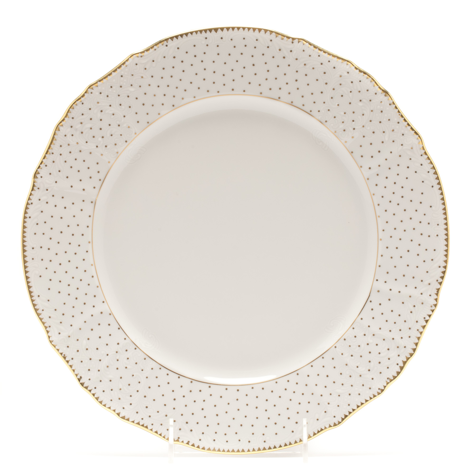 Anna Weatherley Simply Anna Polka Dot Charger Plate