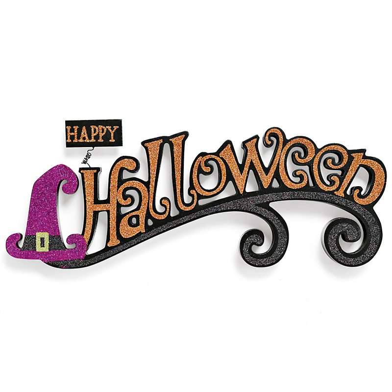 Halloween Sparkle Sign