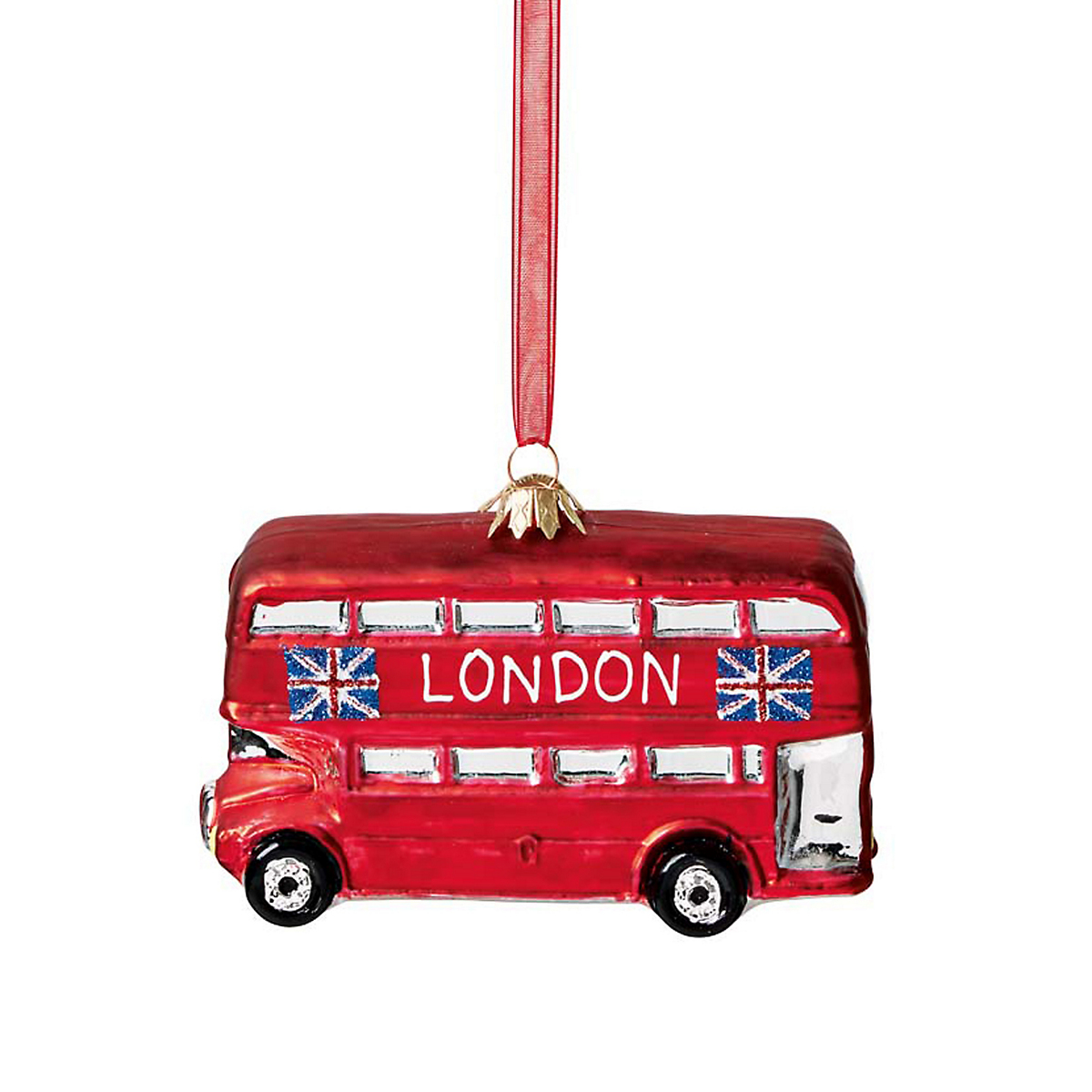 London Bus Christmas Ornament  Gumps