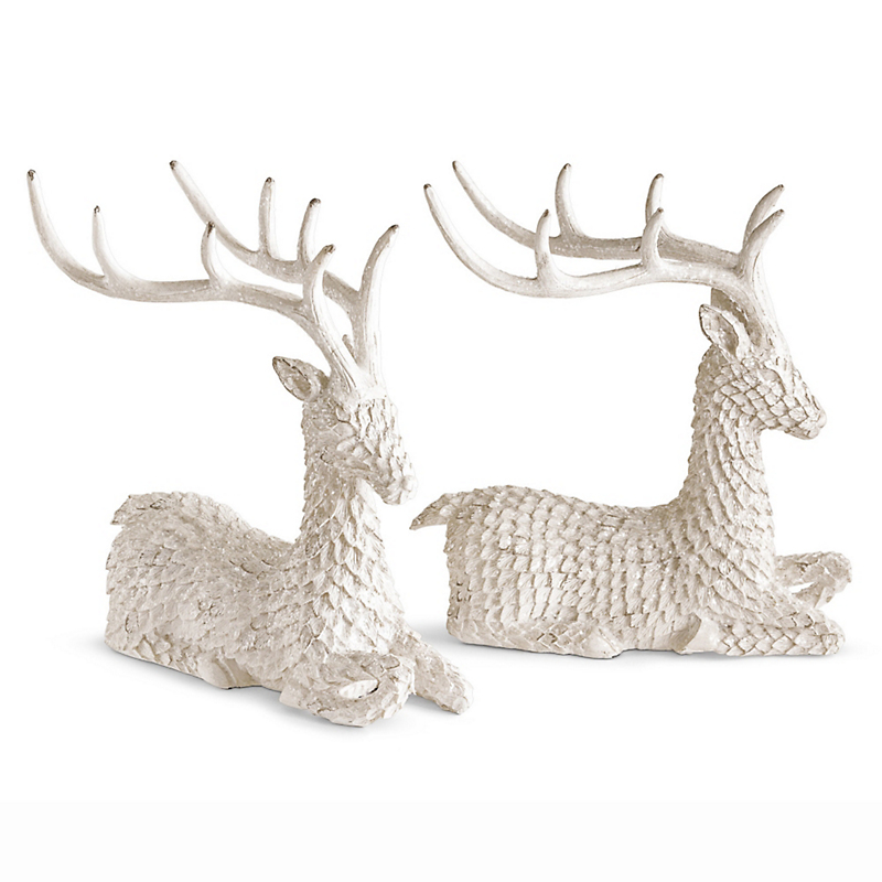 Winter White Reindeer