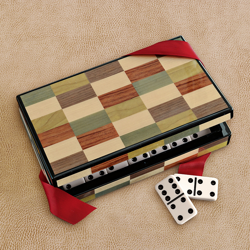 Inlaid Domino Set