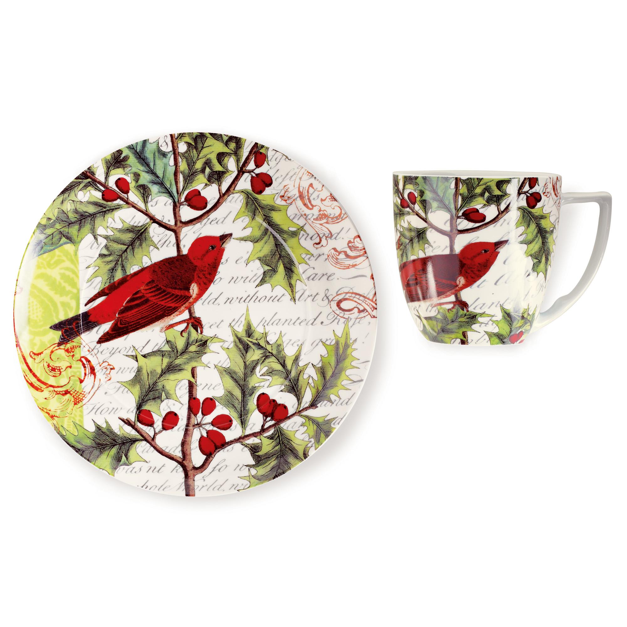 sc 1 st  Gumpu0027s & Red Bird Plates u0026 Mugs | Gumpu0027s