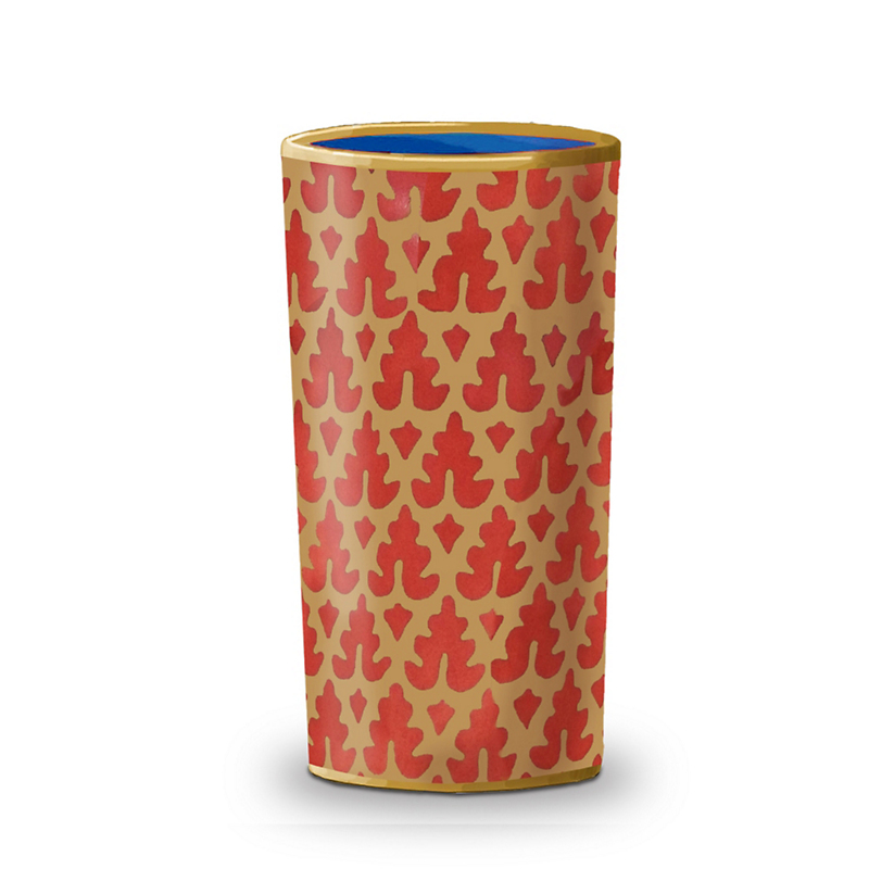 L'Objet Fortuny Murillo Red Tumblers, Set of 4