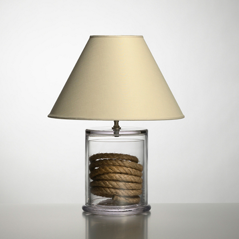 Simon Pearce Nantucket Table Lamp, Small