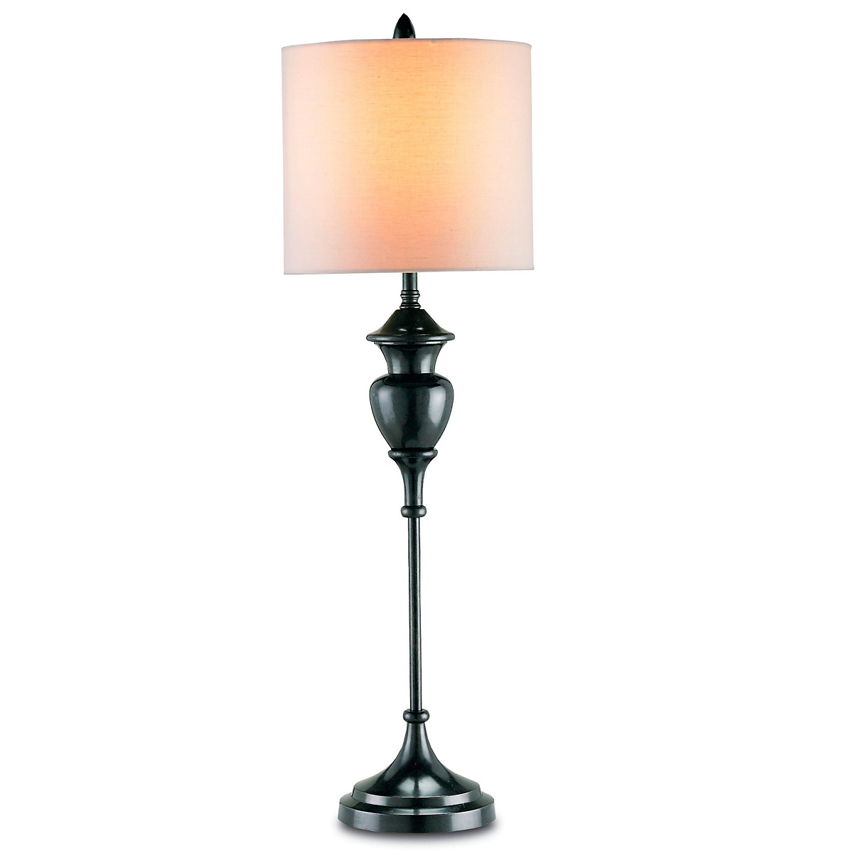 Currey & Company Markham Table Lamp, Black Bronze