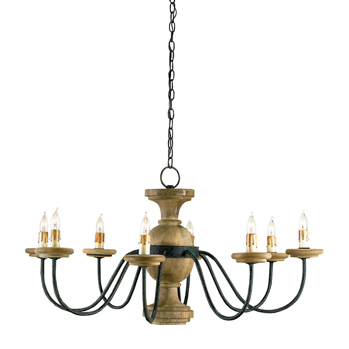 Currey & Company Treesmill Chandelier