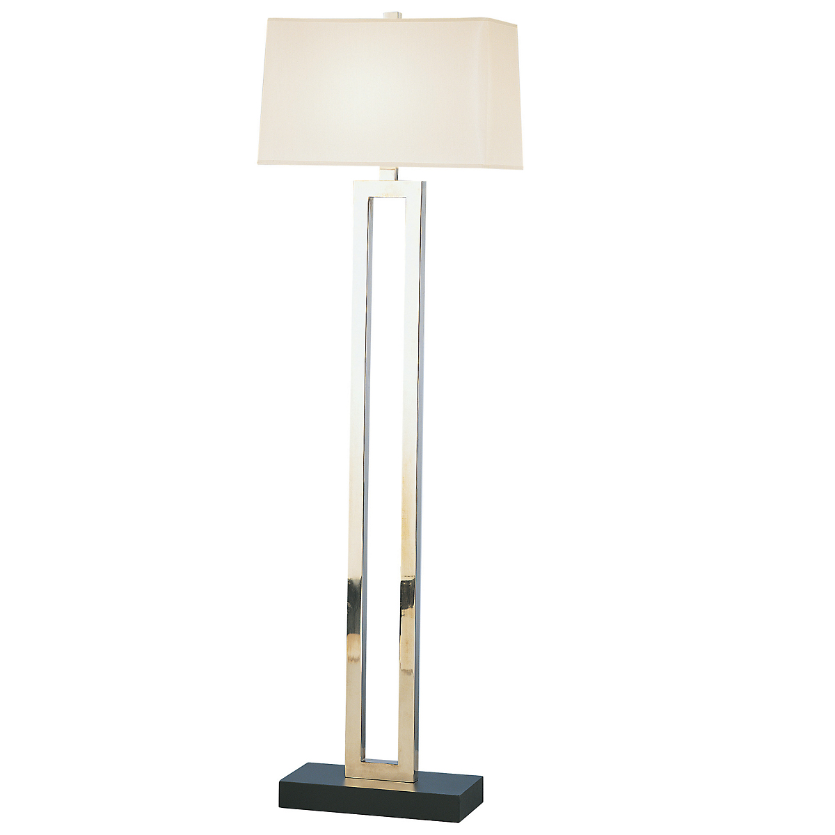 Dionne Floor Lamp, Brass
