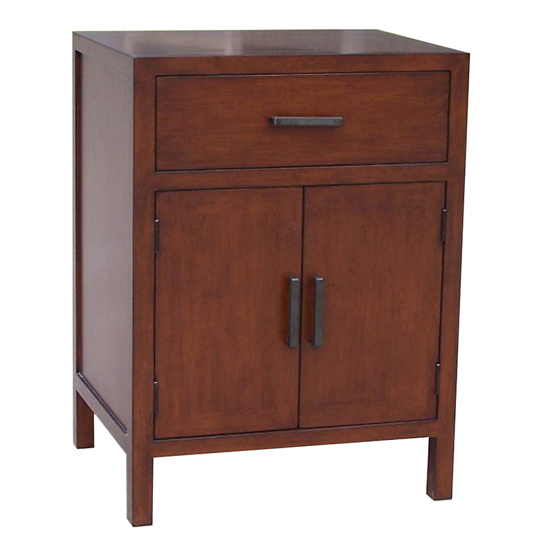 "Maria Yee Mondo 22"" Nightstand, 1-Drawer, 2-Door"