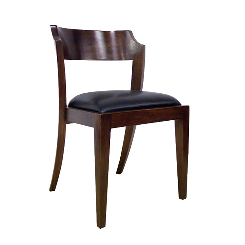 Maria Yee Montecito Notched Round Side Chair