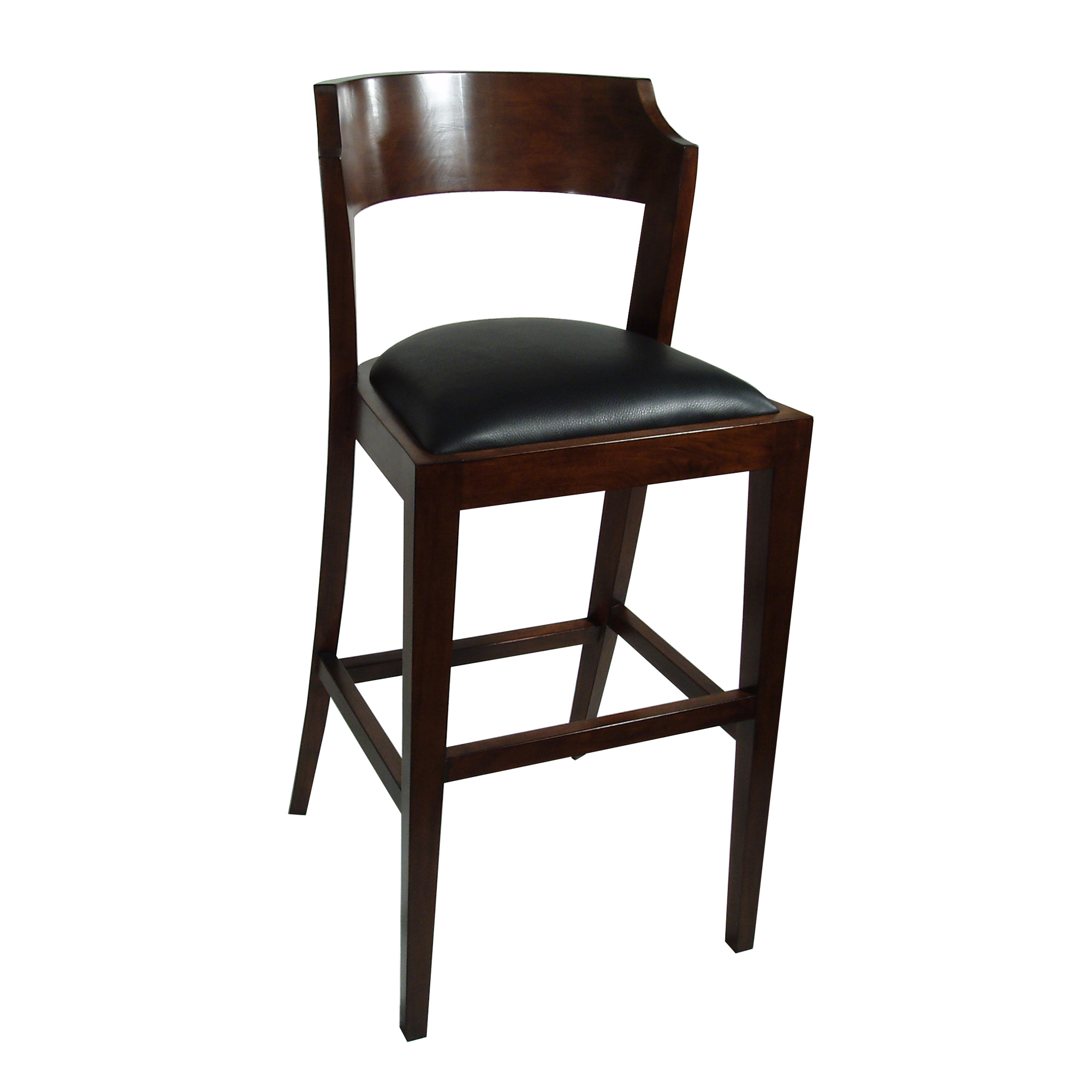 Maria Yee Montecito Notched Round Bar Chair