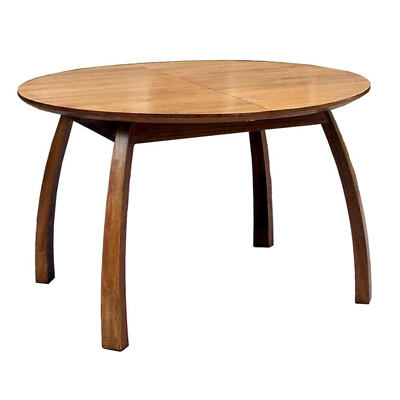 Maria yee ojai round extension dining table gump 39 s for Round extension dining table