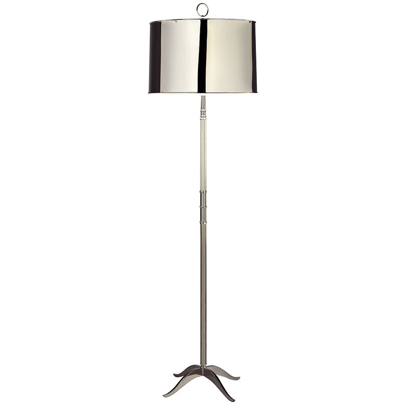 Grantham Floor Lamp, Nickel