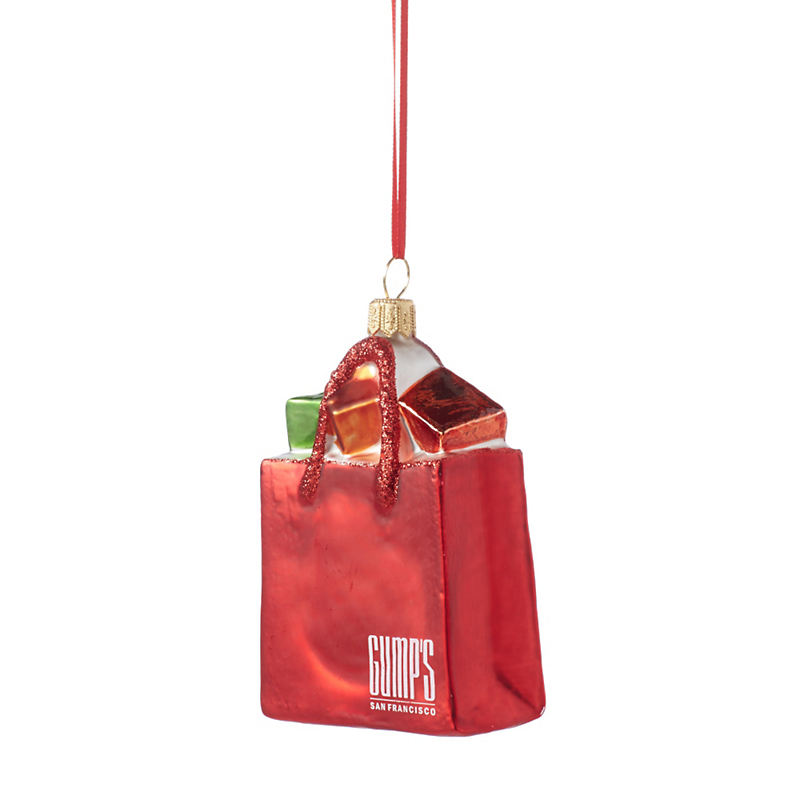 Gump's Gift Bag Ornament
