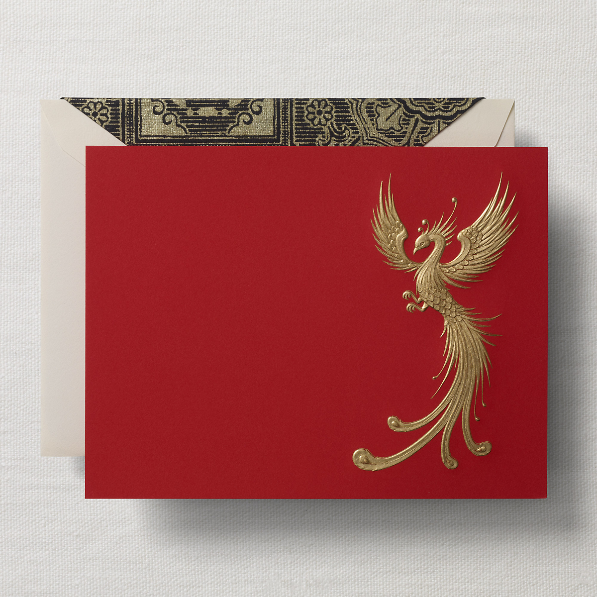 Crane & Co. Signature Phoenix Cards, Set of 8
