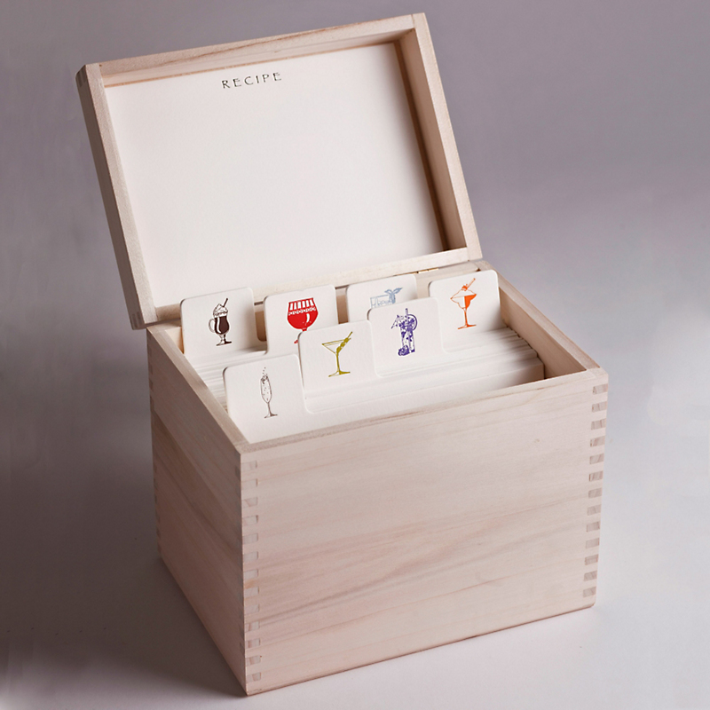 Charles Fradin Drinks Recipe Box
